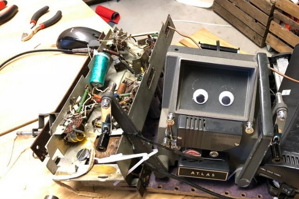 Rommelbots, workshop van Professor Loep