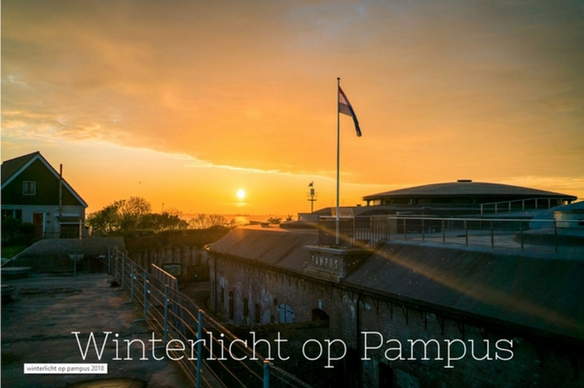 Winterlicht op Pampus