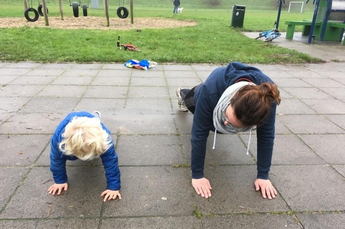 Ouder-Kindsport op 't Fort