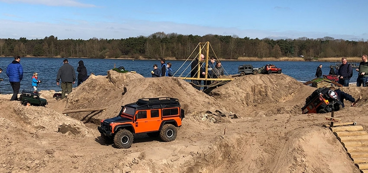 Foto bij Fort Defender, test je behendigheid!