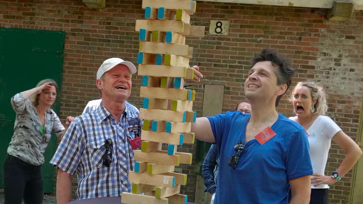 Foto bij Fort DIY,een leuke groepsactiviteit als uitje