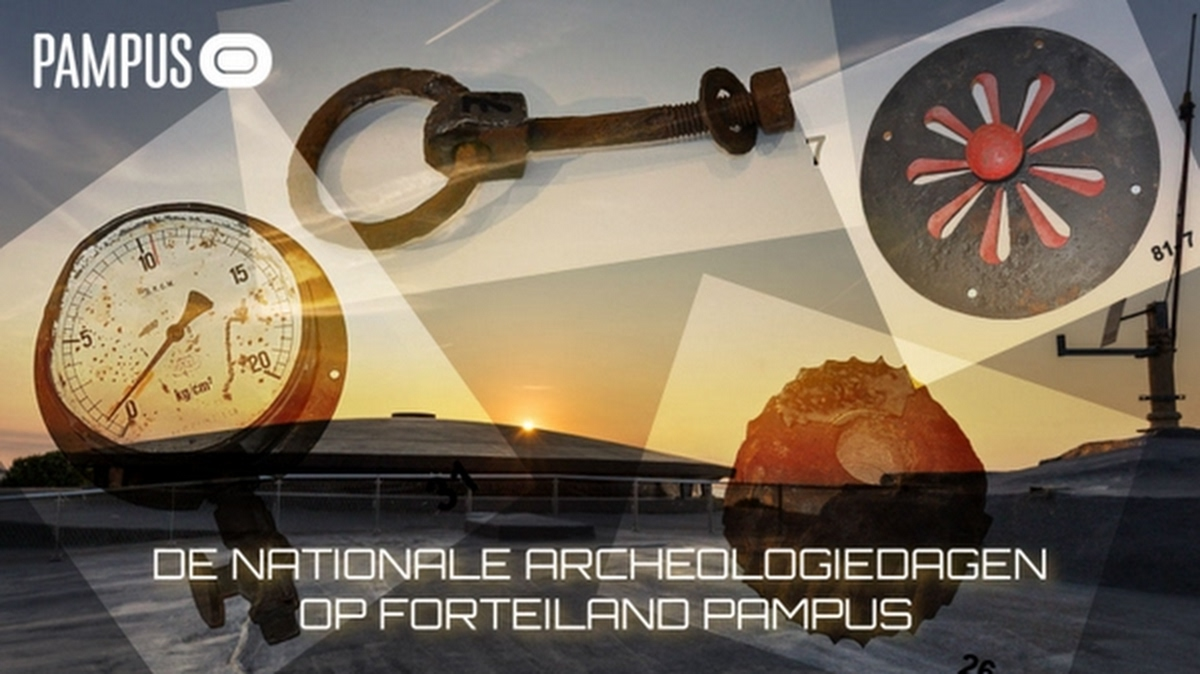 Nationale Archeologiedagen op Pampus