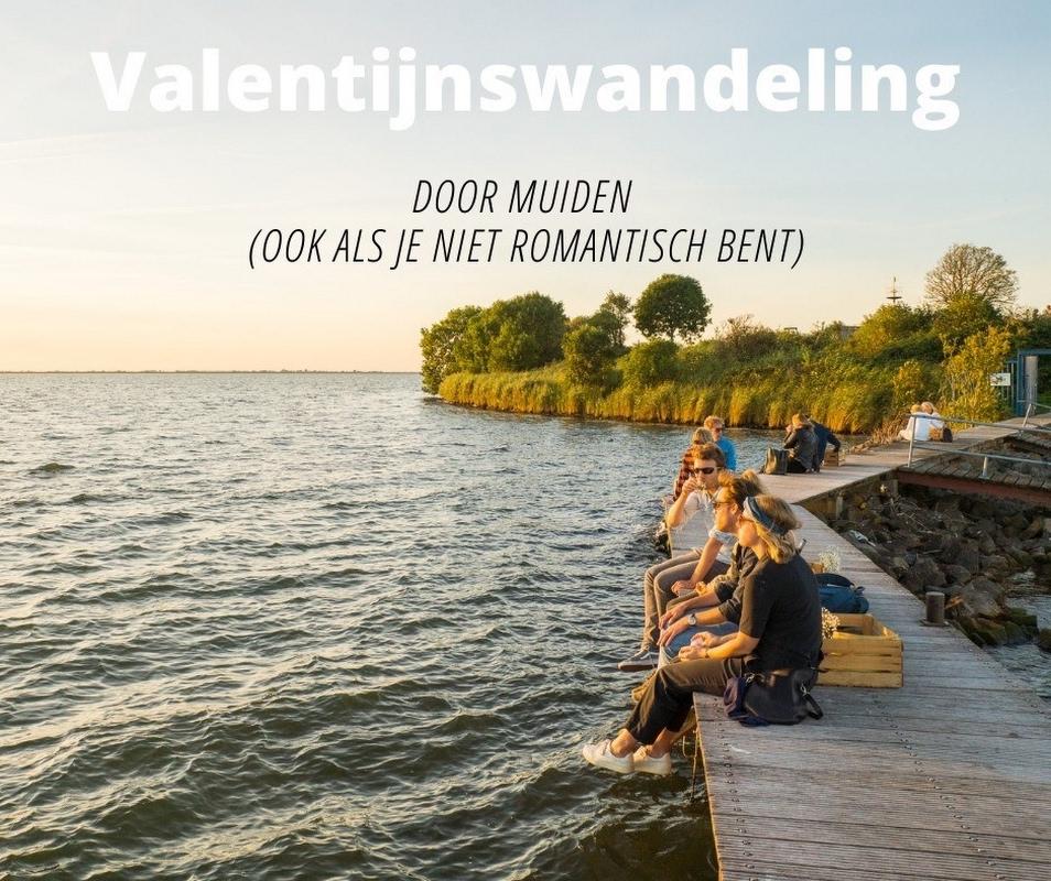 Valentijnswandeling door Muiden